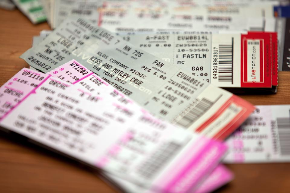 """Los Angeles, CA, USA - November 5, 2012: Music concert show event tIckets for Los Angeles area performances."""