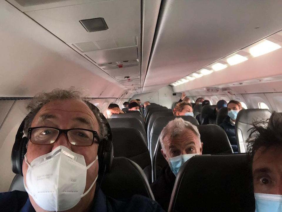 Jeremy shared how he woke up drenched in sweat and was suffering with a persistent dry cough, so he went into isolation. Photo: Instagram/Jeremy Clarkson