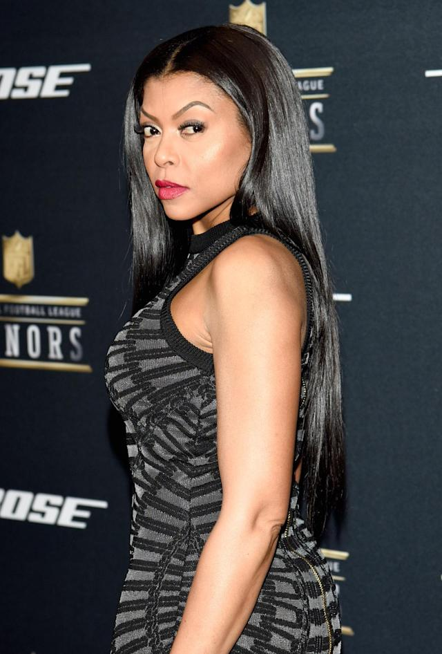 <p>Taraji P. Henson attends the Fifth Annual NFL Honors in February 2016 in San Francisco. (Photo: Tim Mosenfelder/Getty Images) </p>