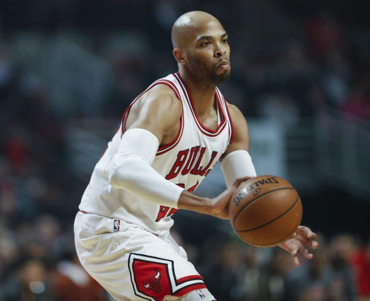 Taj Gibson was perhaps the Bulls' most valuable trade asset. (AP)