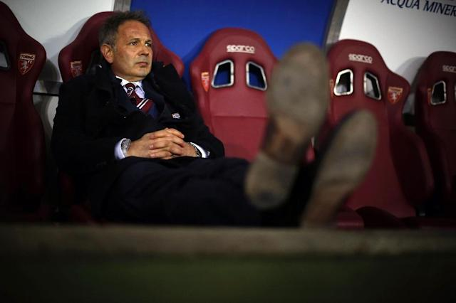Serb Sinisa Mihajlovic appointed coach of crisis-engulfed Sporting Lisbon (AFP Photo/MARCO BERTORELLO)