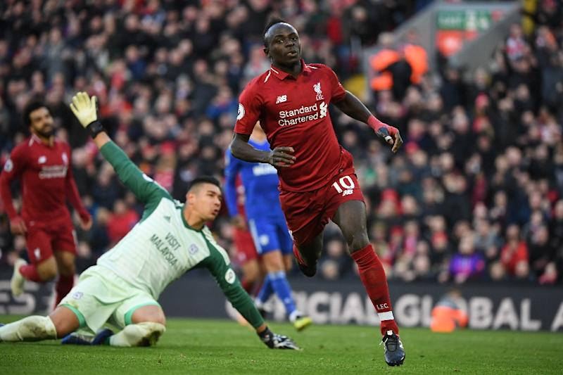 Mane has scored seven goals for Liverpool this season