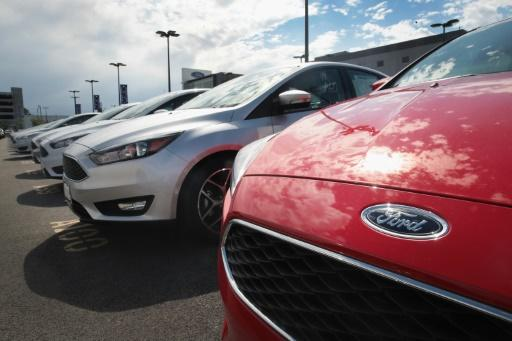 Ford and Fiat Chrysler sales fall less than expected, GM misses