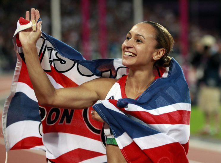 2012: Super Saturday at London 2012. Britons Greg Rutherford, Jessica Ennis and Mo Farah all won gold medals within an hour of each other in the Olympic Stadium. Here, Jessica Ennis celebrates