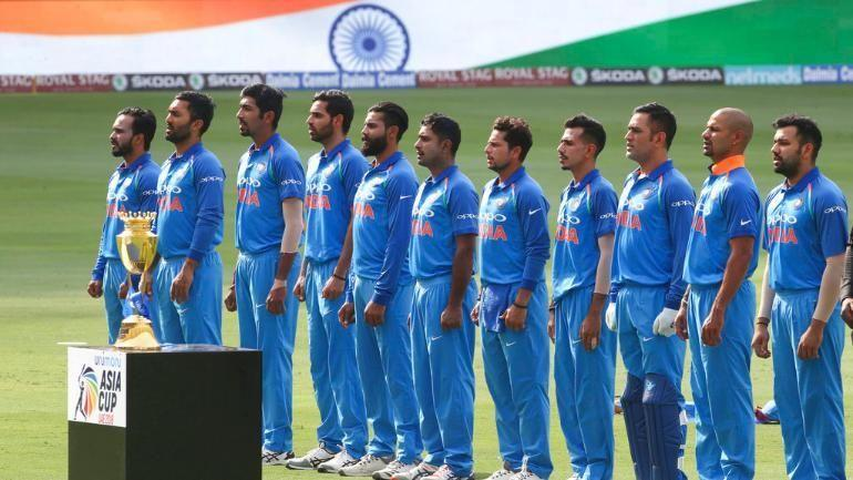 The Victorious India team