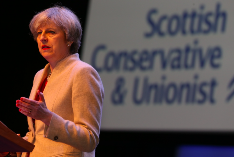 The government said a second independence referendum would be