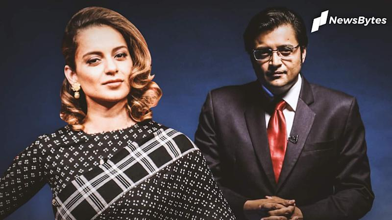 Arnab and Kangana at center of ruckus in Maharashtra houses
