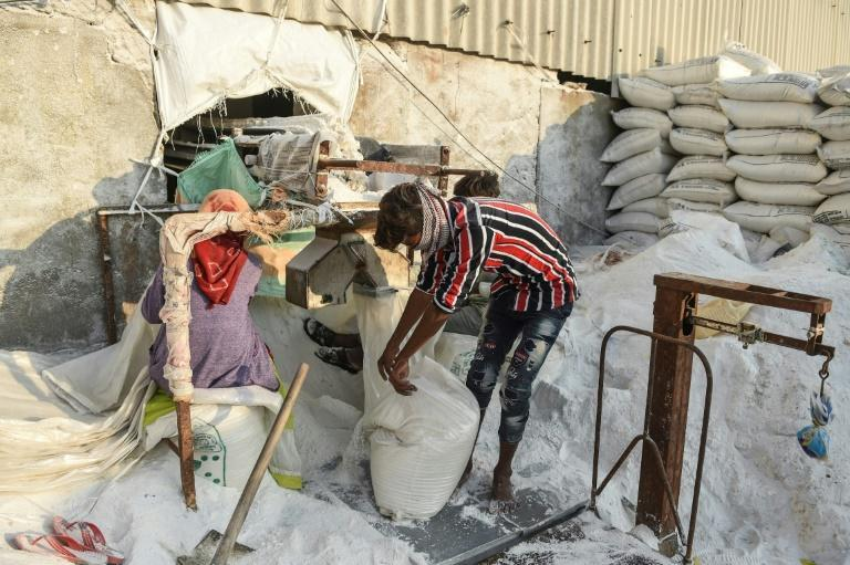 The Agariyas say their ancestors have farmed salt in the region for more than 500 years