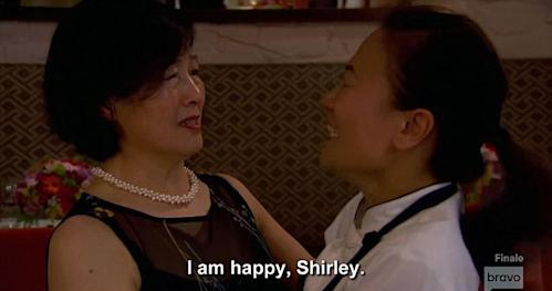 Shirley Chung and her mother Top Chef
