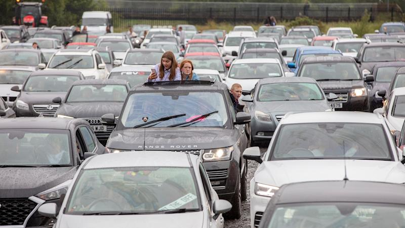 NI's first drive-in country music concert a hit