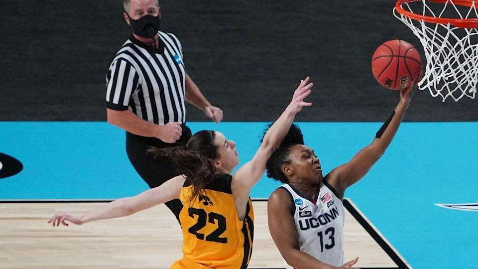 Christyn Williams lay up in NCAA Tournament game