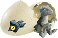 <p>Hatch your very own dino-friend — not just once but multiple times! Unlike those single-use Hatchimal eggs, these shells don't shatter permanently. Choose from one of four dinosaure species, each of which comes with its own special feature, from chomping jaws to super stomps. (Photo: Mattel) </p>