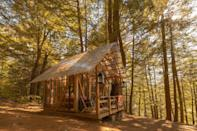 """<p>airbnb.com</p><p><strong>$91.00</strong></p><p><a href=""""https://www.airbnb.com/rooms/17072599"""" rel=""""nofollow noopener"""" target=""""_blank"""" data-ylk=""""slk:BUY NOW"""" class=""""link rapid-noclick-resp"""">BUY NOW</a></p><p>This open-air cabin on a flower farm welcomes visitors to nearby Brattleboro, an artsy, vibrant town with a celebrated ski scene.</p>"""