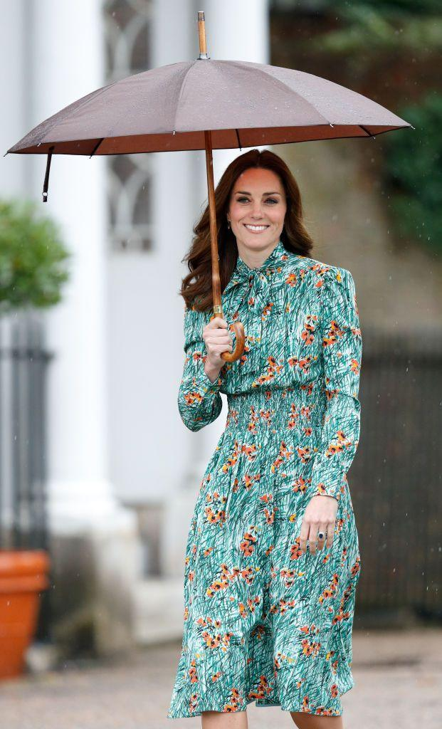 <p>The Duchess of Cambridge is known for letting her outfits do the talking. Case in point: In 2017, when the Duchess attended the 20th Anniversary of Princess Diana's death at Kensington Garden in a dress with a poppy print (AKA the flower of remembrance). </p>