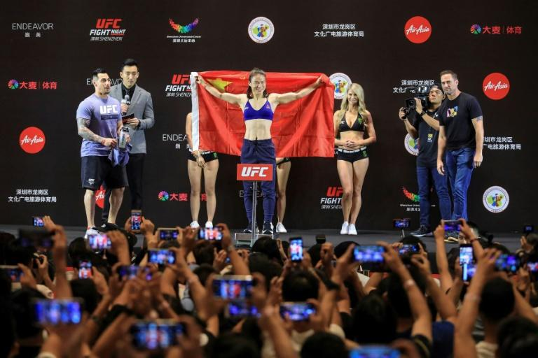 Jessica Andrade, Zhang Weili light up UFC Shenzhen Open Workouts