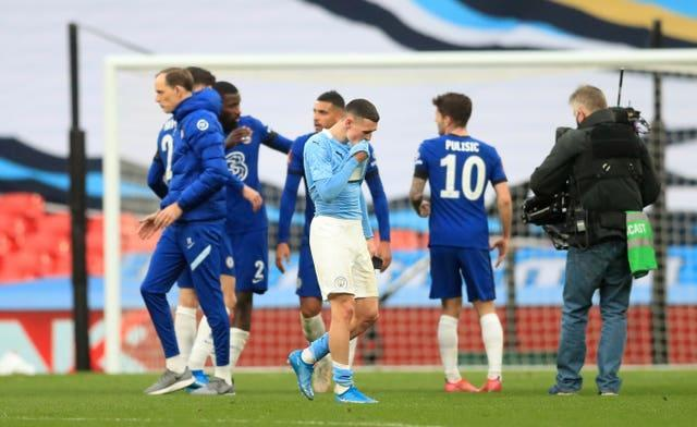 City's defeat marked the end of their hopes of winning an unprecedented quadruple this season