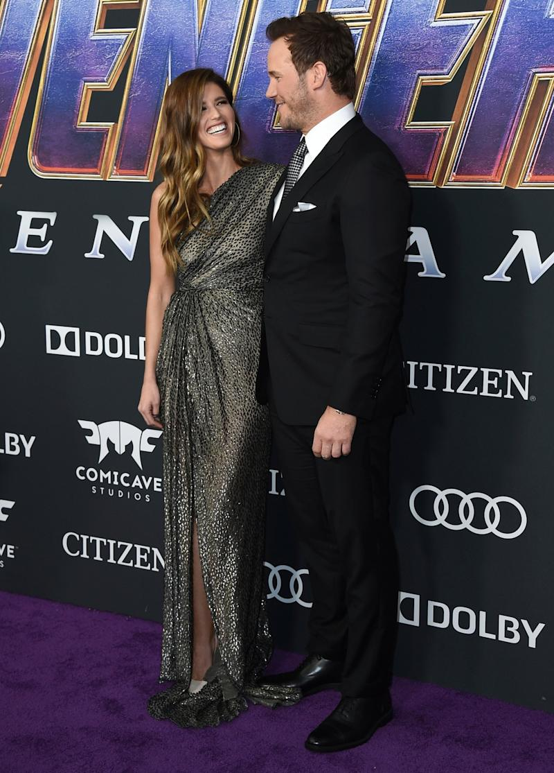 Newly-engaged: Chris Pratt and Katherine Schwarzenegger (Jordan Strauss/Invision/AP)
