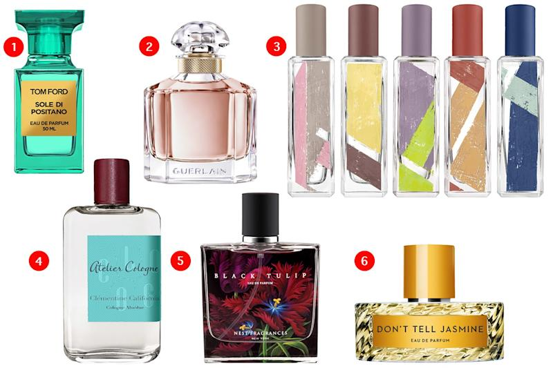 These fresh and floral fragrances are perfect for everyday wear.