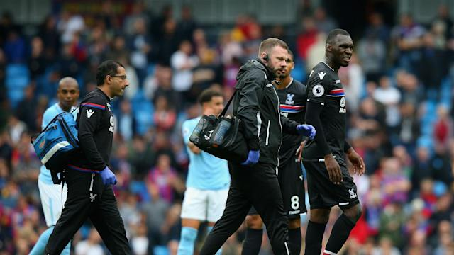 Christian Benteke may hand the revived Crystal Palace another boost by returning early from a knee injury.