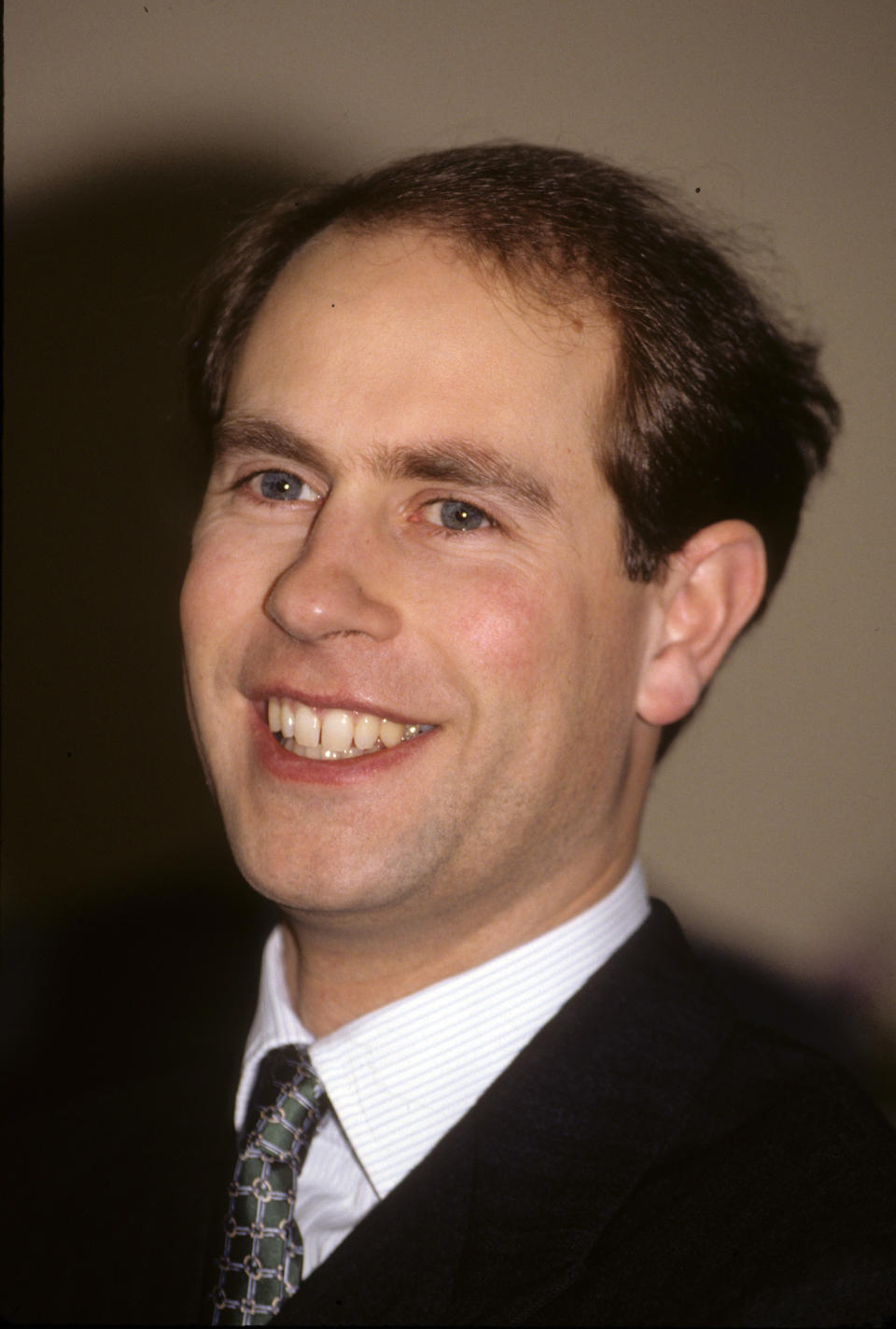 Prince Edward pictured in 1992. (Photo by Anwar Hussein/Getty Images)