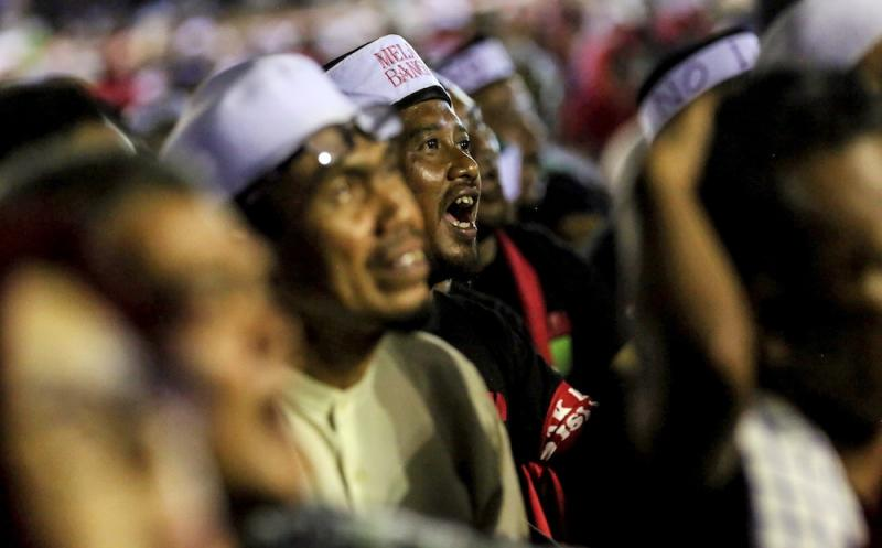 PAS, Umno and Malay-Muslim groups are pressing ahead with the rally tomorrow despite repeated pleas from the authorities who stressed that the event was moot as Putrajaya will not ratify the ICERD. — Picture by Farhan Najib