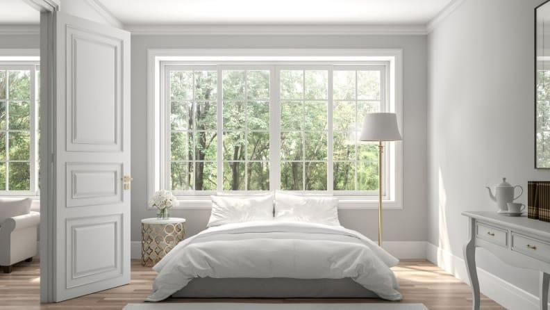 Keep future buyers in mind if you decide to renovate the master bedroom.