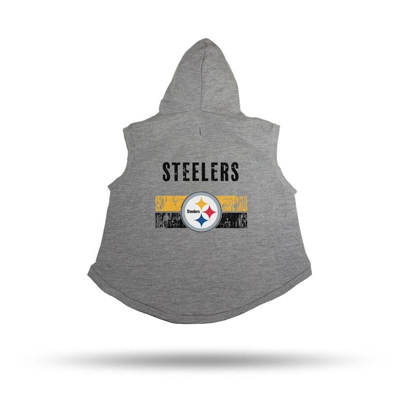 Steelers Pet Hooded Sweatshirt