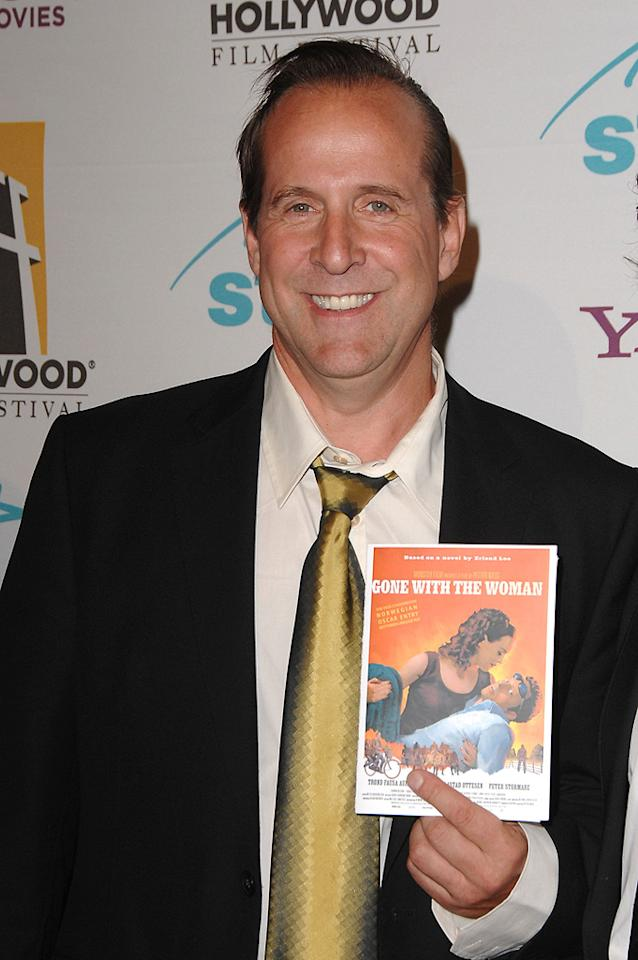 """<a href=""""http://movies.yahoo.com/movie/contributor/1800018583"""">Peter Stormare</a> at the Hollywood Film Festival's Hollywood Awards in Beverly Hills - 10/22/2007"""