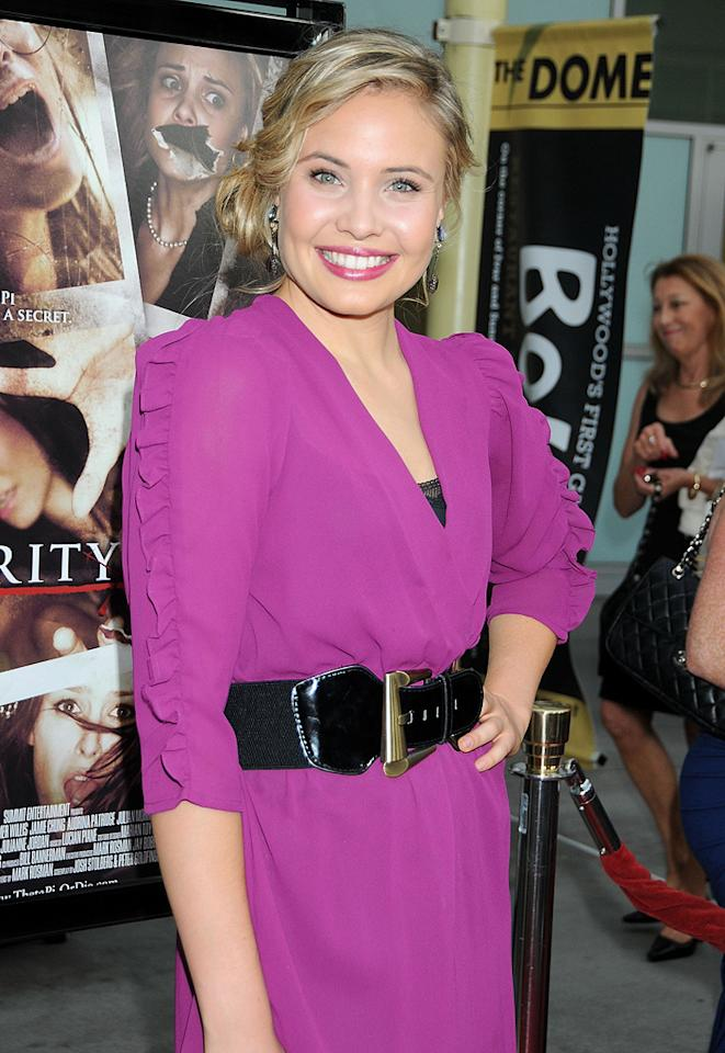 "<a href=""http://movies.yahoo.com/movie/contributor/1809667922"">Leah Pipes</a> at the Los Angeles premiere of <a href=""http://movies.yahoo.com/movie/1810046336/info"">Sorority Row</a> - 09/03/2009"