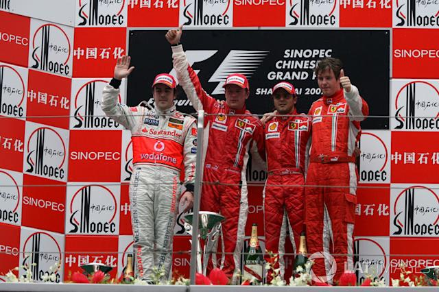 "50- Fernando Alonso, 2º en el GP de China 2007 con McLaren <span class=""copyright"">Sutton Motorsport Images</span>"