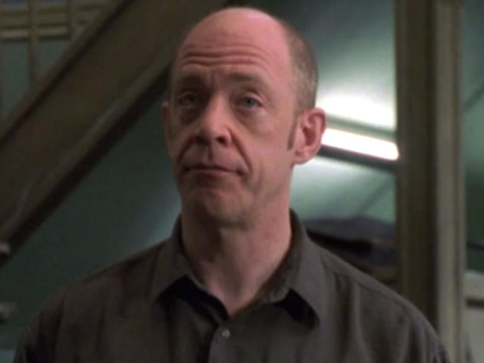 """J.K. Simmons on season one of """"Law & Order: Special Victims Unit."""""""