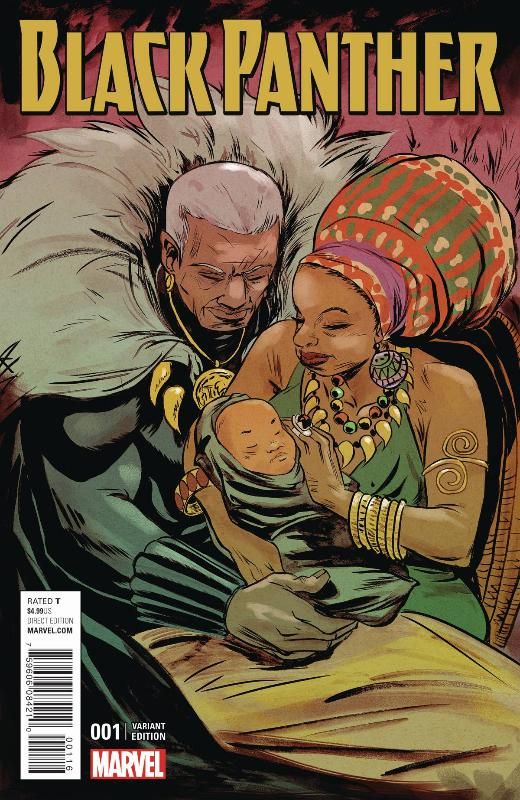 Comic book cover featuring the Ramonda character to be played by Angela Bassett (Image: Marvel)