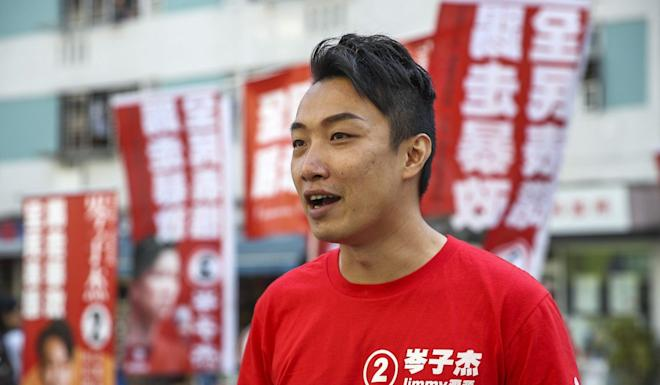 Jimmy Sham was one of three openly gay politicians to win a seat in the district council elections. Photo: Winson Wong