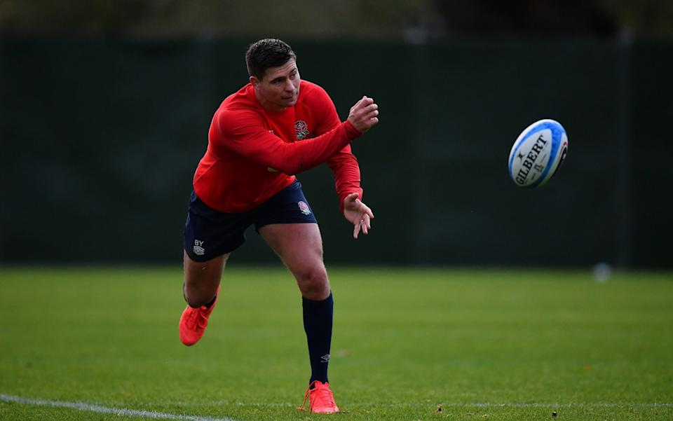 Ben Youngs passing - GETTY IMAGES