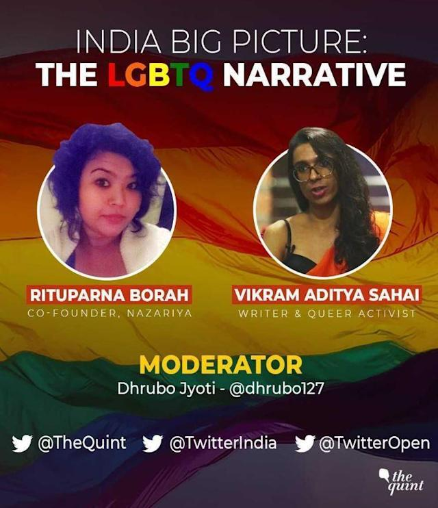 This #Pride2018, The Quint joins hands with Twitter India to host a marathon of panel discussions on LGBTQ+ rights.