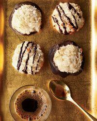 """Macaroons look fancy, but these have just five ingredients, which means they're an attainable sort of luxury. Learn how to create them at <a href=""""http://www.foodandwine.com/recipes/coconut-macaroons"""" target=""""_blank"""">Food & Wine</a>."""