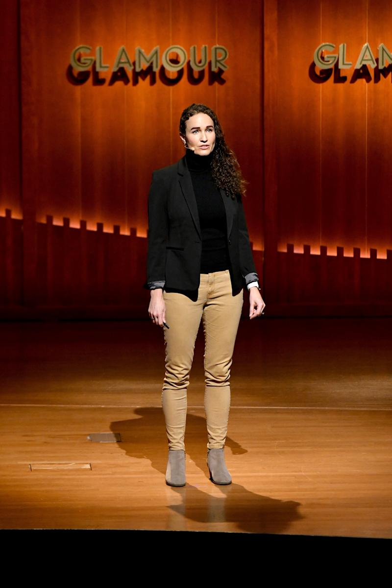 Megan Phelps-Roper speaks onstage during the 2019 Glamour Women Of The Year Summit at Alice Tully Hall on November 10, 2019 in New York City.