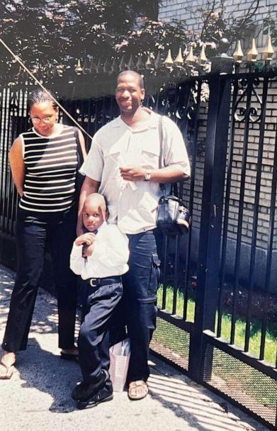 PHOTO: Shawn Powell pictured with his son Joshua Powell. (Powell family)