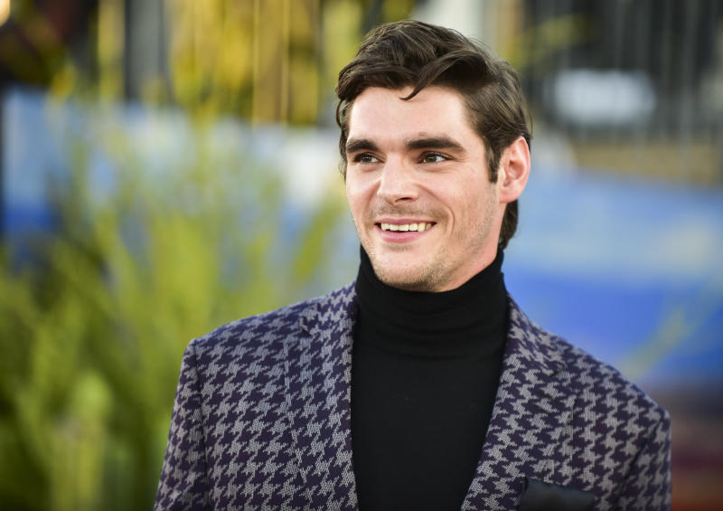 """WESTWOOD, CALIFORNIA - OCTOBER 07: RJ Mitte attends the premiere of Netflix's """"El Camino: A Breaking Bad Movie"""" at Regency Village Theatre on October 07, 2019 in Westwood, California. (Photo by Rodin Eckenroth/FilmMagic )"""