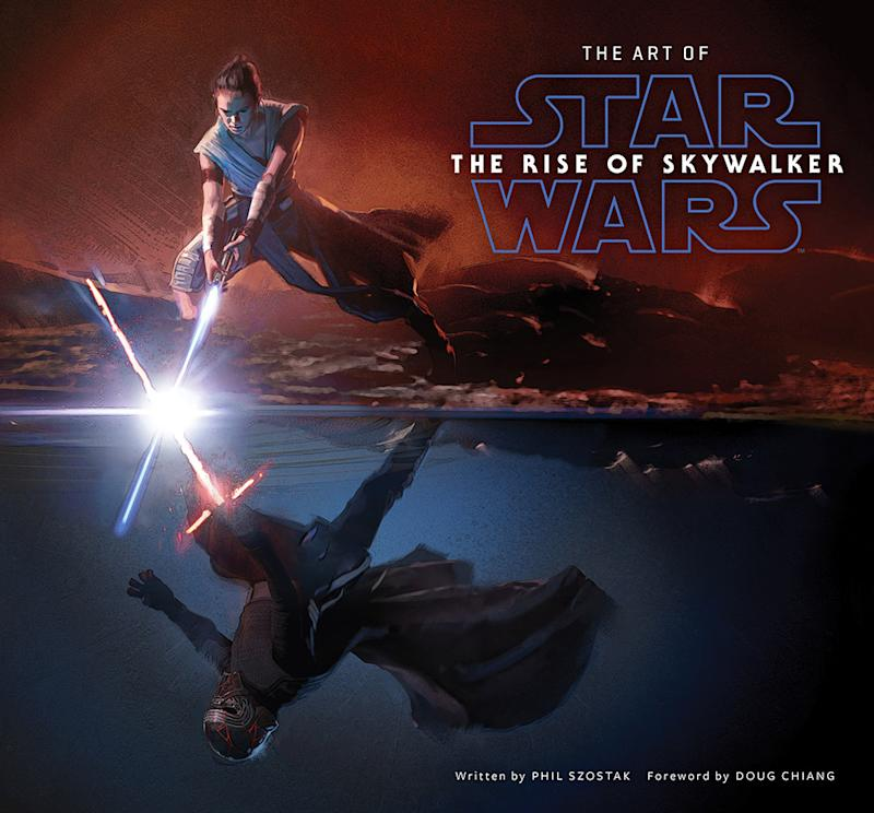 The book cover of 'The Art of Star Wars: The Rise of Skywalker' by Phil Szostak (Photo: © Abrams Books, 2020; © 2020 Lucasfilm Ltd.)