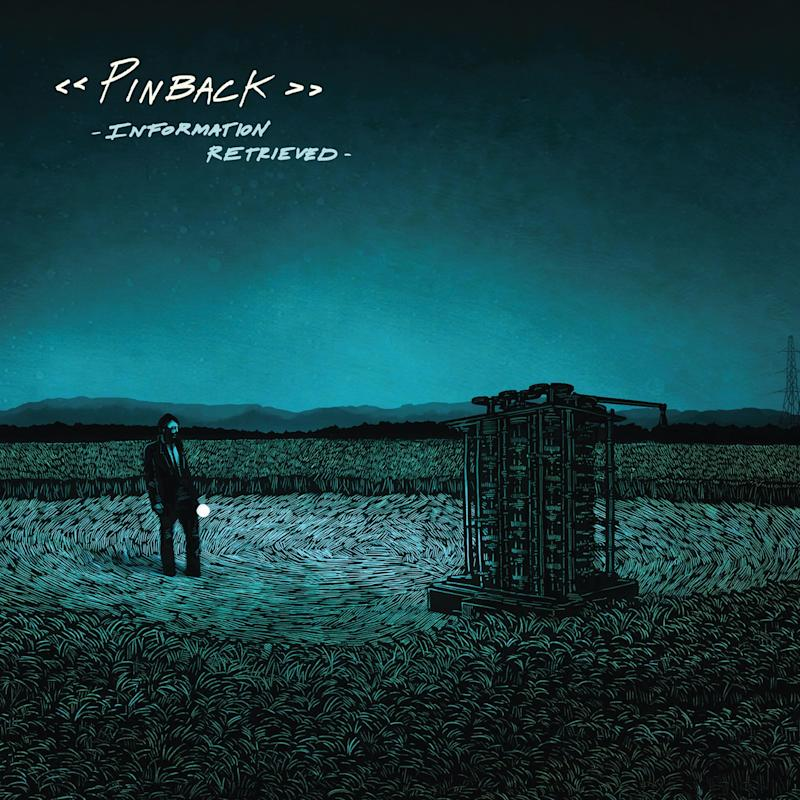 "This CD cover image released by Temporary Residence shows the latest release by Pinback, ""Information Retrieved."" (AP Photo/Temporary Residence)"
