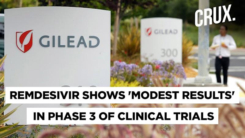 Remdesivir Cleared For Use In Severe Cases In India