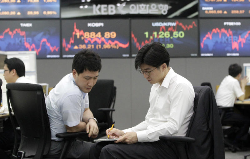 Asia stocks stall amid global economic woes