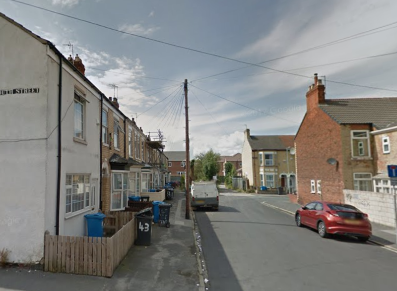Relowicz admitted a burglary in Ventnor Street (pictured) at a house shared by four female students. (Google)