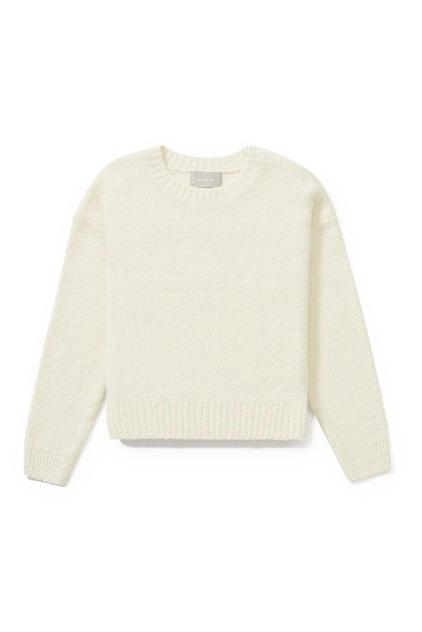 "<p><strong>Everlane</strong></p><p>nordstromrack.com</p><p><strong>$44.97</strong></p><p><a href=""https://go.redirectingat.com?id=74968X1596630&url=https%3A%2F%2Fwww.nordstromrack.com%2Fshop%2Fproduct%2F3236201&sref=https%3A%2F%2Fwww.elle.com%2Ffashion%2Fshopping%2Fg33468956%2Feverlane-nordstrom-rack-sale%2F"" rel=""nofollow noopener"" target=""_blank"" data-ylk=""slk:SHOP NOW"" class=""link rapid-noclick-resp"">SHOP NOW</a></p><p><strong><del>$88</del> $44.97 (49% off)</strong></p><p>Here we have the snuggly textured crew neck you might've dropped hints about wanting during the holidays. This sweater is uncomplicated and cozy, and we could all use that vibe right about now. </p>"