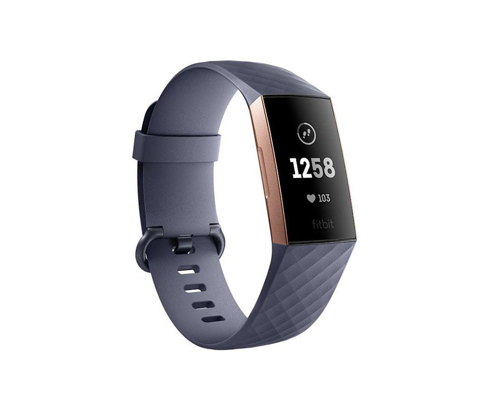 """<p><strong>fitbit</strong></p><p>amazon.com</p><p><a href=""""https://www.amazon.com/Fitbit-Fitness-Activity-Graphite-Included/dp/B07FTN21JL?tag=syn-yahoo-20&ascsubtag=%5Bartid%7C10050.g.23480472%5Bsrc%7Cyahoo-us"""" rel=""""nofollow noopener"""" target=""""_blank"""" data-ylk=""""slk:Shop Now"""" class=""""link rapid-noclick-resp"""">Shop Now</a></p><p>This big-ticket gift will almost certainly be received with screams of excitement (and perhaps a quick run around the block to test it out).</p>"""