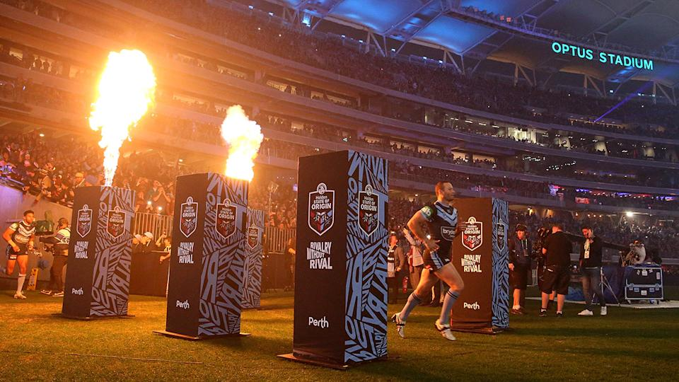 The NRL has announced State of Origin will return to Perth in 2022. (Photo by Paul Kane/Getty Images)