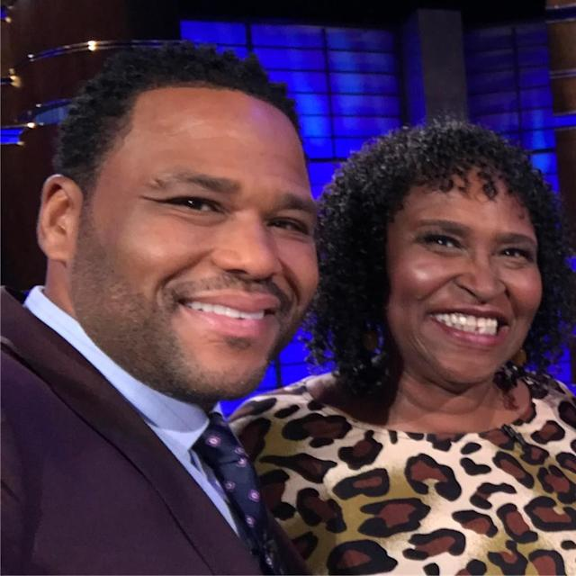 "<p>The <em>Blackish</em> star's mother, Doris, is clearly No. 1 in his book: ""Happy Mother's Day to my favorite girl my mama!"" (Photo: <a href=""https://www.instagram.com/p/BUFbyetF-Kw/"" rel=""nofollow noopener"" target=""_blank"" data-ylk=""slk:Anthony Anderson via Instagram"" class=""link rapid-noclick-resp"">Anthony Anderson via Instagram</a>) </p>"