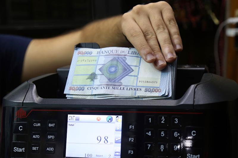 Lebanon Premier Touts Default and Promises Currency Intervention