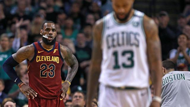 LeBron James has been carrying the Cleveland Cavaliers through the NBA playoffs. Without helping hands around him, will the fatigue he's been enduring lead to his final days in a Cavs uniform?